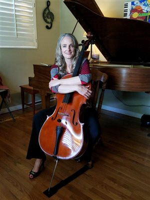 My cello, Sebastian, is 32 years old. Sounds sweeter every year!