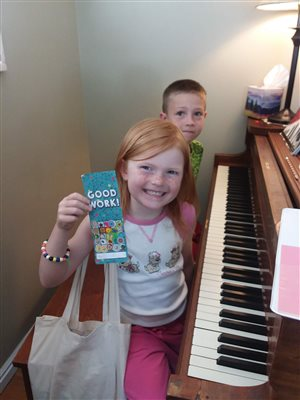 Piano Buddy lessons are fun!
